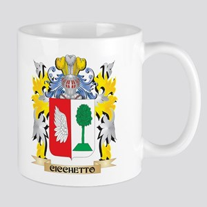 Cicchetto Coat of Arms - Family Crest Mugs