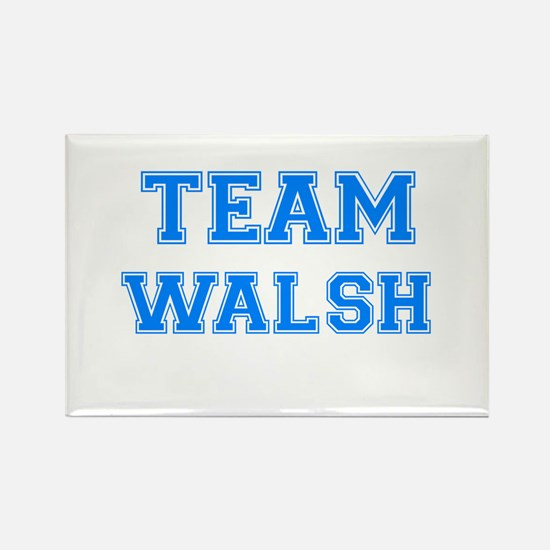 TEAM WALSH Rectangle Magnet