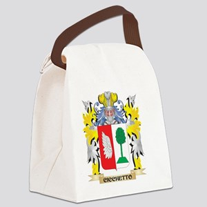 Cicchetto Coat of Arms - Family C Canvas Lunch Bag