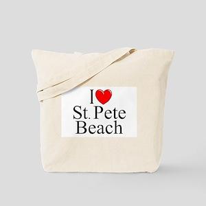 """I Love St. Pete Beach"" Tote Bag"