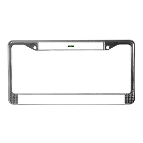 Teddy Roosevelt National Park License Plate Frame
