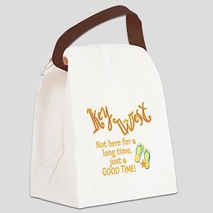 Key West - Canvas Lunch Bag