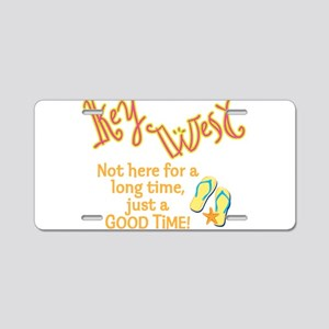 Key West - Aluminum License Plate