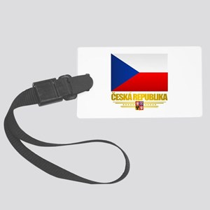 Czech Flag Luggage Tag