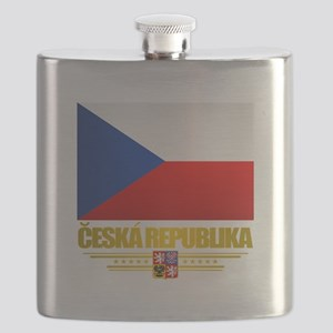 Czech Flag Flask