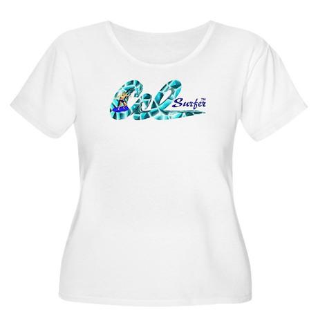 CalSurfer.com Plus Size T-Shirt