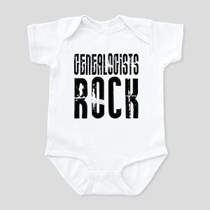 Genealogists Rock Infant Bodysuit