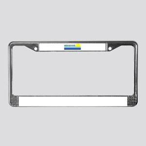 Missouri River License Plate Frame