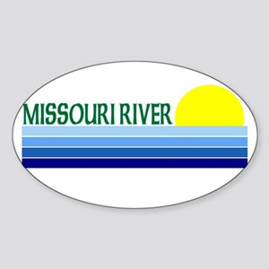 Missouri River Oval Sticker