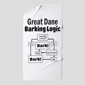 Great Dane Logic Beach Towel
