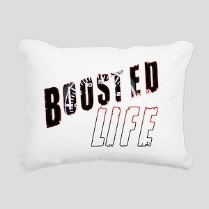 Boosted Life Rectangular Canvas Pillow
