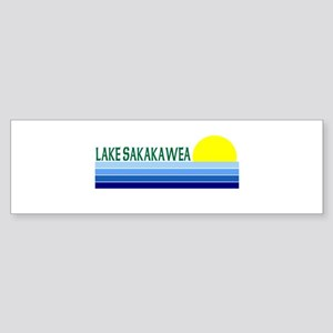 Lake Sakakawea Bumper Sticker