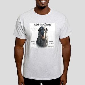 Irish Wolfhound (grey) Light T-Shirt