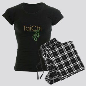 Tai Chi Growth 11 Women's Dark Pajamas