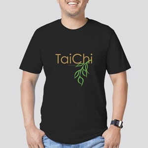 Tai Chi Growth 11 Men's Fitted T-Shirt (dark)