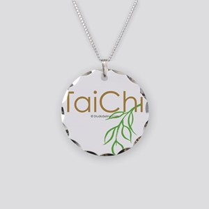 Tai Chi Growth 11 Necklace Circle Charm