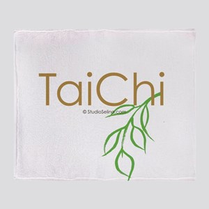 Tai Chi Growth 11 Throw Blanket