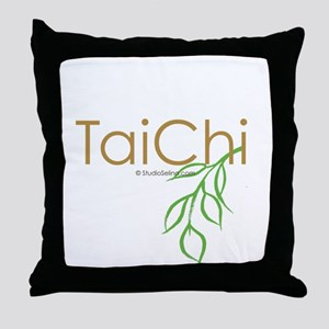 Tai Chi Growth 11 Throw Pillow
