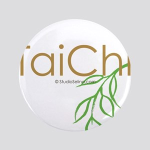 "Tai Chi Growth 11 3.5"" Button"