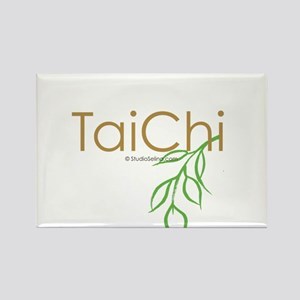 Tai Chi Growth 11 Rectangle Magnet