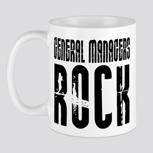 General Managers Rock Mug