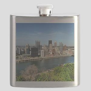 Mt. Washington view of Pittsburgh! Flask