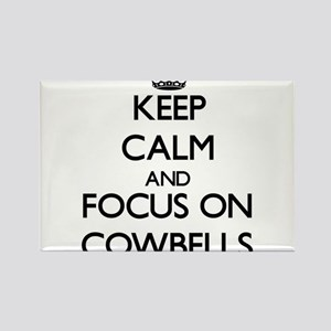Keep Calm by focusing on Cowbells Magnets