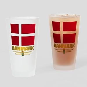 Dannebrog Drinking Glass