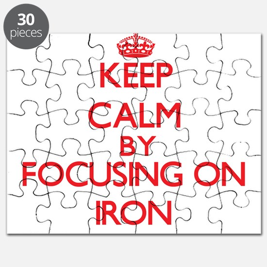 Keep Calm by focusing on Iron Puzzle