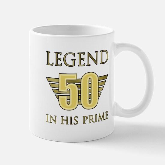 50th Birthday Legend Mugs