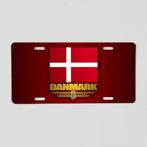 Dannebrog Aluminum License Plate