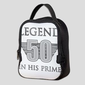 50th Birthday Legend Neoprene Lunch Bag