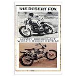 Desert Fox World's Biggest Dirtbike Large Poster