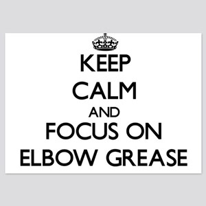 Keep Calm by focusing on Elbow Grease Invitations