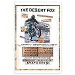 Desert Fox Bultaco Large Poster