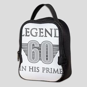 60th Birthday Legend Neoprene Lunch Bag