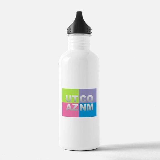 Four Corners USA Water Bottle
