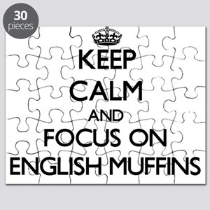 Keep Calm by focusing on English Muffins Puzzle
