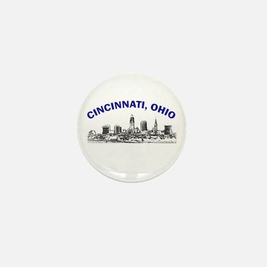 Cincinnati, Ohio Mini Button