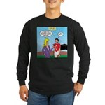 Sports and Grades Long Sleeve Dark T-Shirt