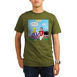 Sports and Grades Organic Men's T-Shirt (dark)