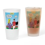 Sports and Grades Drinking Glass