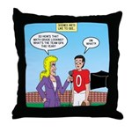 Sports and Grades Throw Pillow