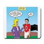 Sports and Grades Mousepad