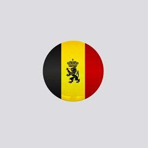 Belgian Flag Mini Button