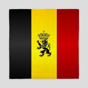 Belgian Flag Queen Duvet