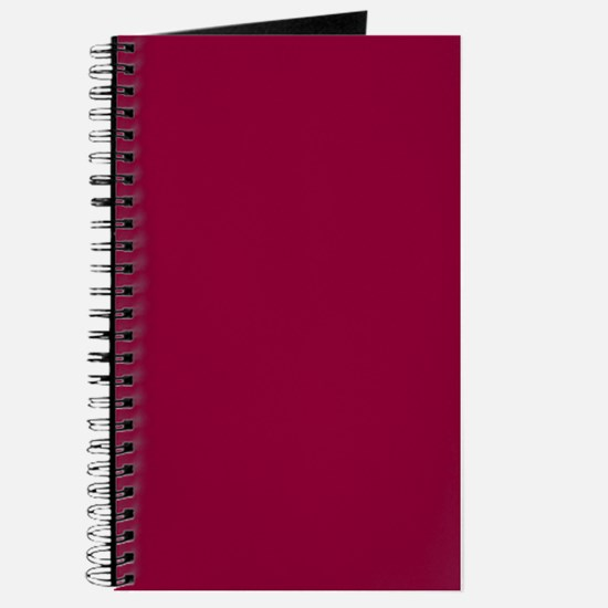 Solid red wine Journal