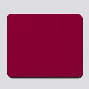 Solid red wine Mousepad