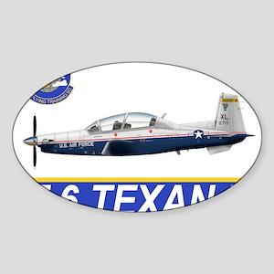 T-6A Texan II Rectangle Sticker