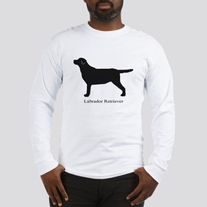 Black Labrador Retriever Long Sleeve T-Shirt